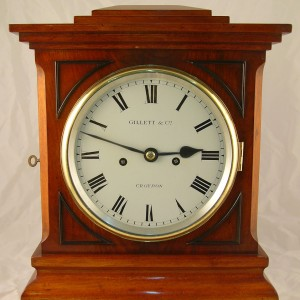 Gillett clock face