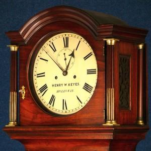 Longcase clock by Henry Keyes